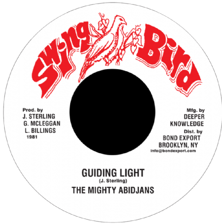 Mighty Abidjans - Guiding Light / Version (Swing Bird / DKR) US 7""